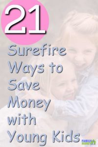 Here's 21 ways you can save money with your kids starting today |Kids | Saving money |
