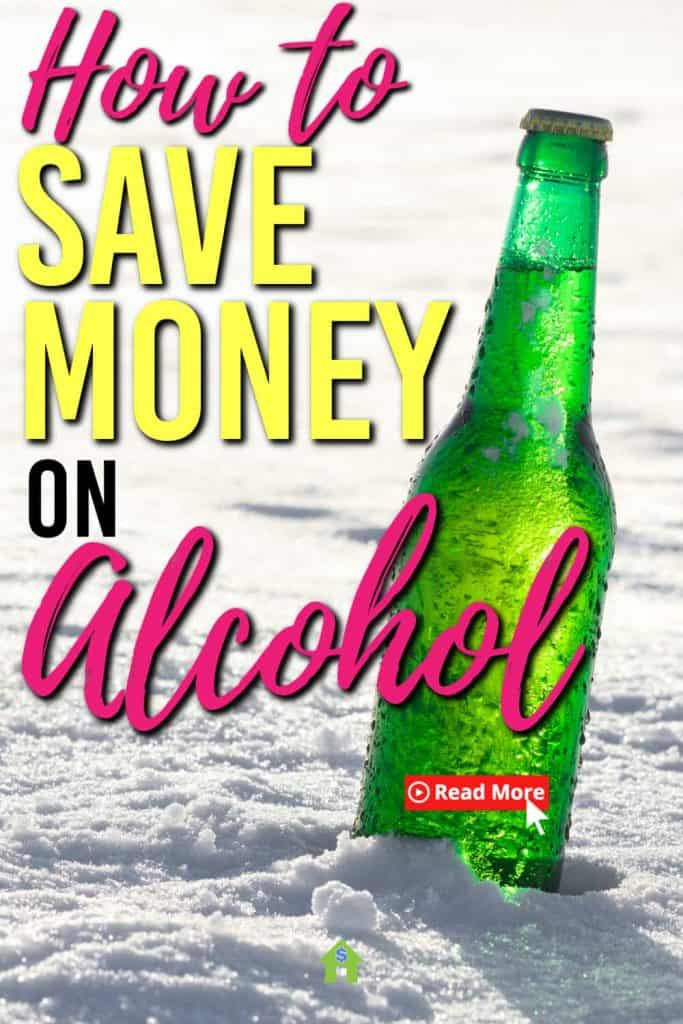I've been on the hunt to cut down the cost of alcohol. Here are some of the ways I've come up with to save money on beer, wine and spirits | Saving money | Frugal living tips |
