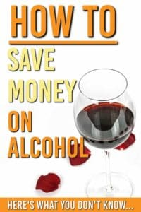 save money on alcohol