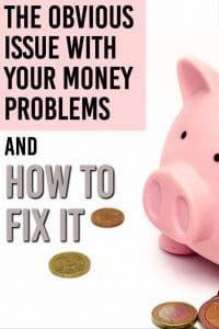 How to fix your money problems