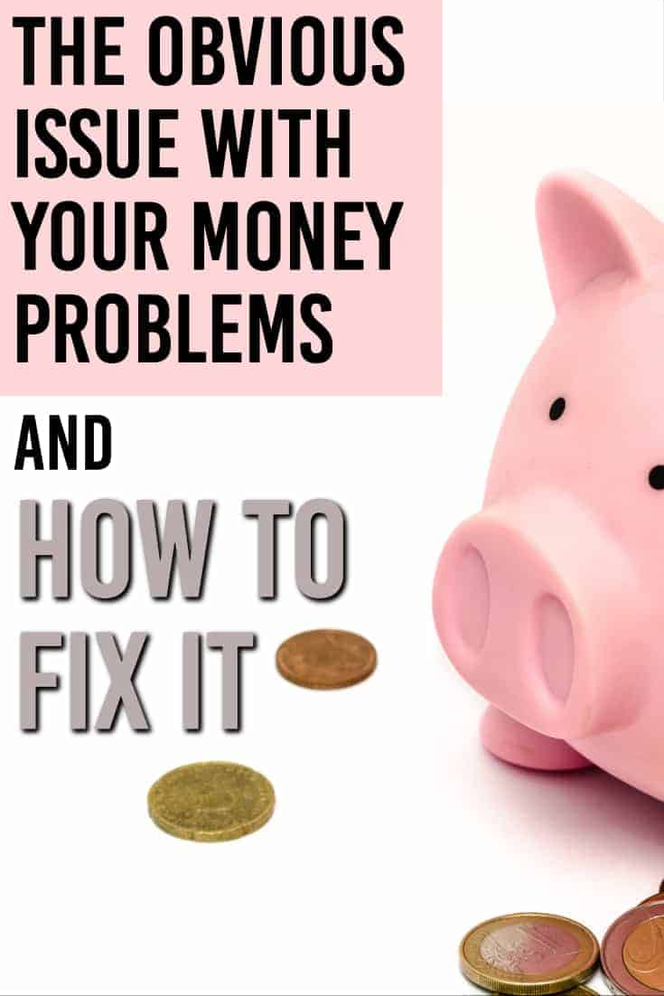 This post is a great perspective on how to start fixing your money problems and break the cycle you are currently in.