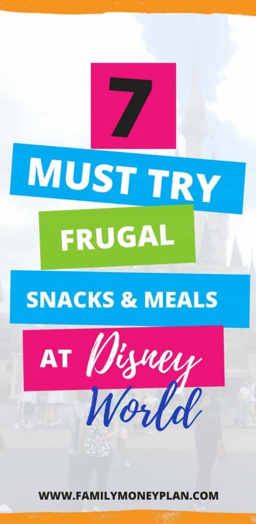Looking for some great snacks at Walt Disney World? These 7+ snacks and meals are worth every penny. Don't leave the parks with out trying some of these fan favorites | Disney Dining Plan | Disney Snacks | Disney Meals |
