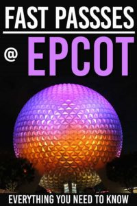 Learn everything you need to know about Epcot FastPasses. Learn the tiers and how to maximize your Epcot strategy to get the most out of your FastPasses #wdw #epcot #disney #disneyworld #familytravel #familytrip #disneyvacation