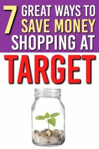 Looking for some money saving tips at Target? Here's 7 Surefire Target Shopping Tips. These are Great Ways to Save Money at Target |Saving Money | Shopping Tips | Target | #shopping #tips #frugal #personalfinance #money