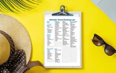 Ultimate Travel Packing List: Free Printable