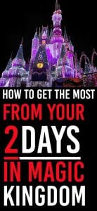 How we made it to most of the Magic Kingdom in 2 days. Our plan revealed. How to Get the Most Out Of Your Two Days in the Magic Kingdom. Magic Kingdom 2 Day Plan | #magickingdom #disneyworld #wdw