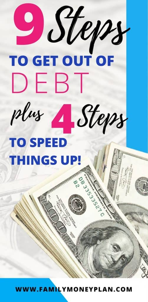 How to get out of debt fast! Looking for how to get out of debt. Learn from someone who's done it. We share our get out debt tips, debt pay off strategies and the most important things you need to know about getting out of debt once and for all |Debt payoff | How to get out of debt | #debtfree #debtpayoff #howtogetoutofdebt #debt #debtfree