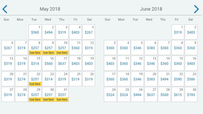 Flights to Hawaii Cost