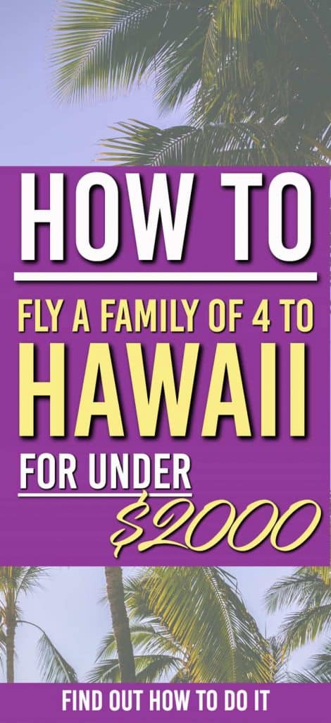 how to fly to hawaii for under 2000 | Fly to hawaii for less | Fly to hawaii for cheap