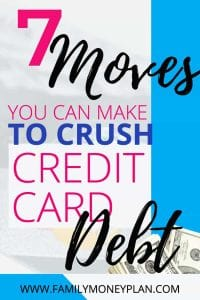 how to get your credit card debt written off