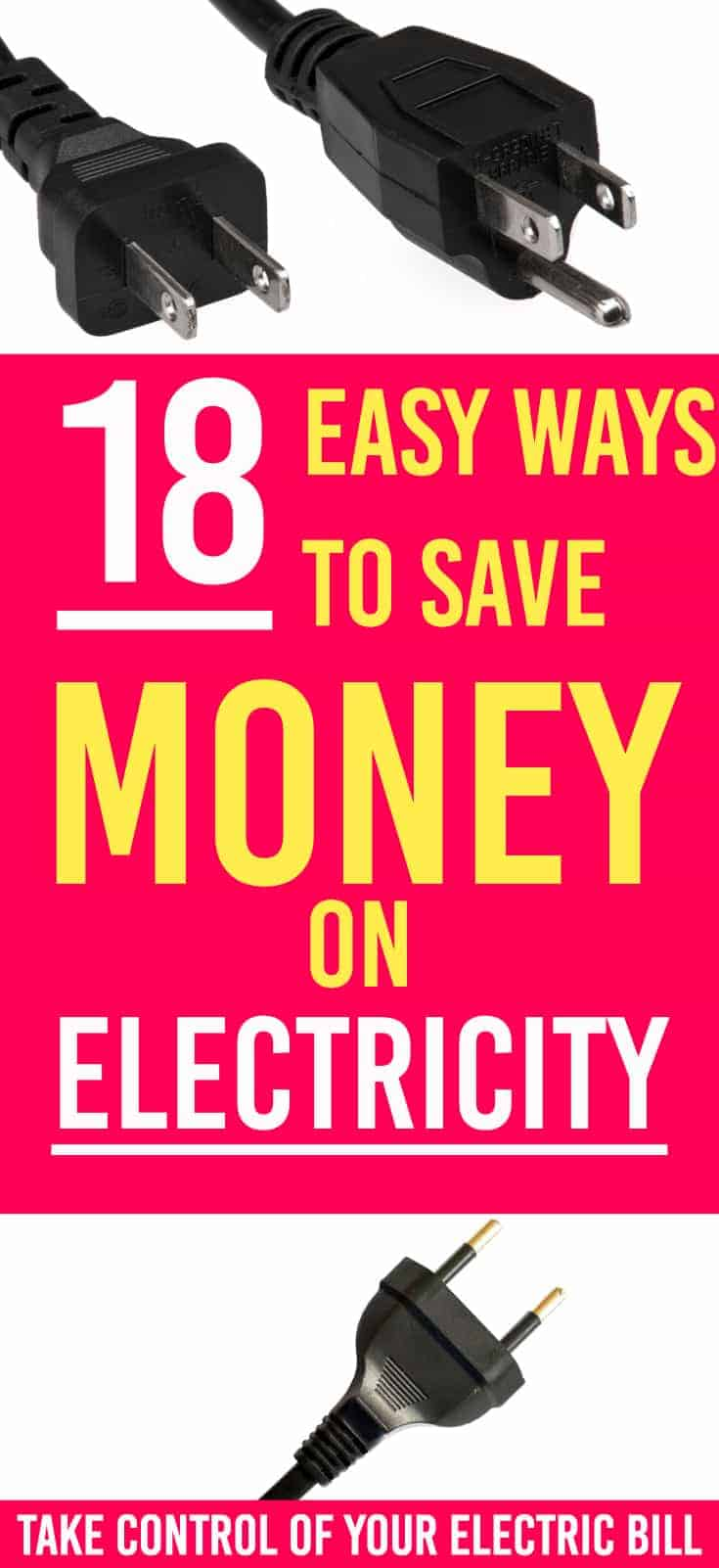 By making these smart money moves you can save money on your electricity bill month after month. Here are 18 ways for you to save money on electricity. | Saving money | Electricity | Saving money on electricity  tips |