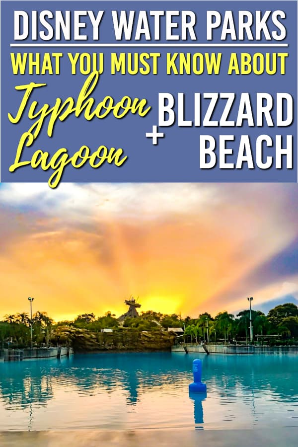 Looking for Disney Water park tips? We have everything you need for a fun time at Blizzard Beach and Typhoon Lagoon | Disney Water park tips | Typhoon Lagoon | Blizzard Beach | #waltdisneyworld #disney