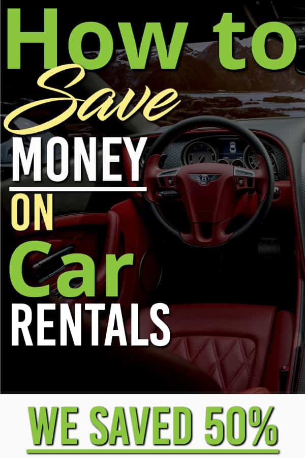 Need a rental car at a lower price? Here is how we saved big on our recent car rental. There are a lot of ways to save but this worked best. We saved 50% over other sites.. | Travelling | Rental Car | Saving Money |