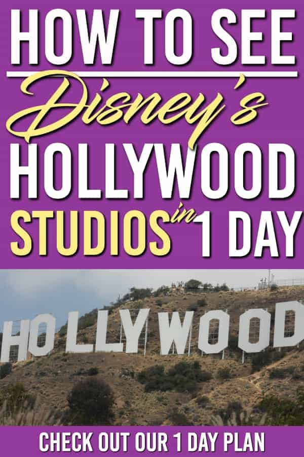Disney World Hollywood Studios is an amazing place! To see it all in one day you will need these tips and tricks.  Here is the 1day plan for you to see the best rides and shows of what this park has to offer | Disney World | Hollywood Studios | Hollywood Studios 1 day Plan #disneyworld #familytravel #disney