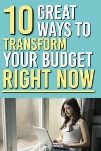 Looking for some ways to fix your budget quickly? Here are 10 best ways to fix your budget right now | Budgeting | Frugal Living | Budget Tips | budget ideas