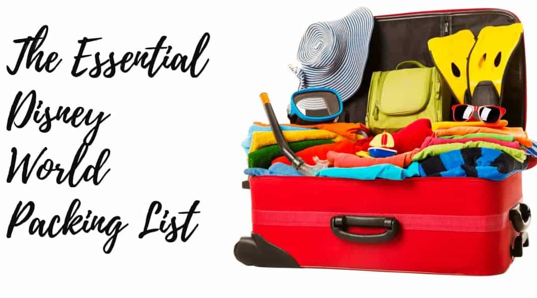 Disney World Packing List – Free Printable