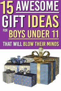 Are you looking for gift ideas for boys between the ages of 8, and 11 years old? We've asked them and found the answers to what the best Christmas gifts are for boys under 12. We've included the very best present ideas in this ULTIMATE gift guide for tween boys – perfect for birthdays, Christmas, and holidays!