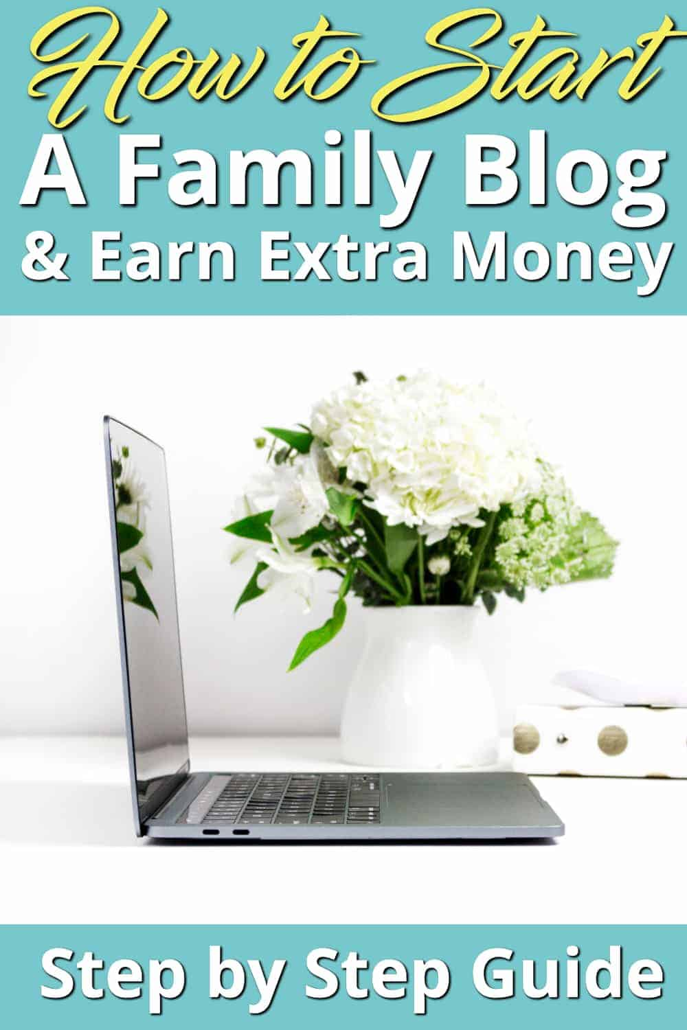 Have you ever thought of starting a family blog to share your stories with family and friends? Wondering how to start a blog quickly Here's how with step by step instructions and a video. Blogging can open the doors to amazing things. Ours has given us an income and led to life changing opportunities. Here's how to start your blog. #blogging #extraincome #sidehustle #money #onlineincome