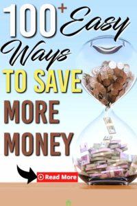 100 ways to save money