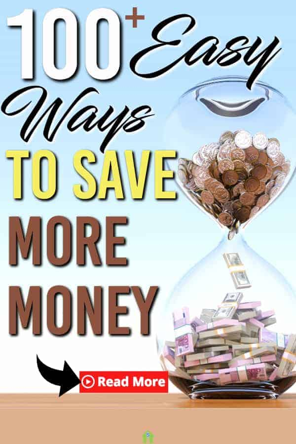 Need more frugal living? Here are 100 easy ways to save money. These are great ways to trim your budget and start saving money today. #savemoney #waystosave #waystosavemoney #frugal #frugalliving #moneytips #personalfinance