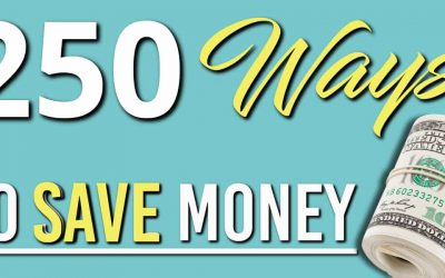 250 Money Saving Tips