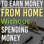 Are you looking for ways to make money with out putting any money into it? Have you heard about making money online, but don't know where to start? These ideas are how we got started to earn money online and are perfect for beginners to start trying to make money without putting money into it.
