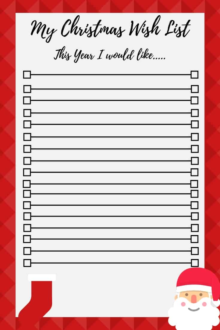 Christmas Gift Exchange Wish List Template from familymoneyplan.com
