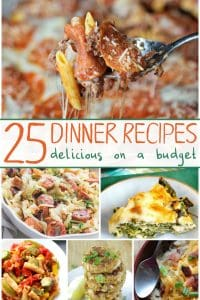 dinners on a budget