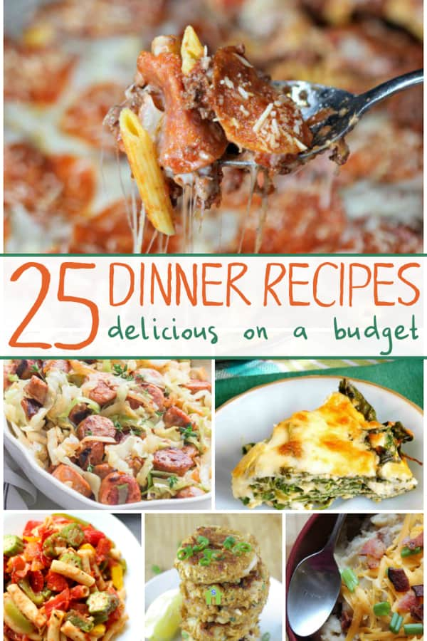 Trying to cut your food budget? Here are some great budget friendly meal ideas you can try that are under $10 for a family of 4 to eat. #recipeideas #frugal #food #recipes #budget #budgeting #foodonabudget #frugalmeals #frugalliving