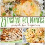 instant pot dinners for beginners