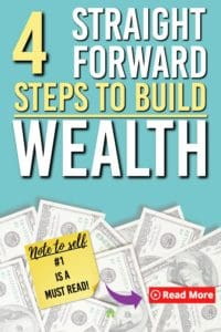 steps for building wealth