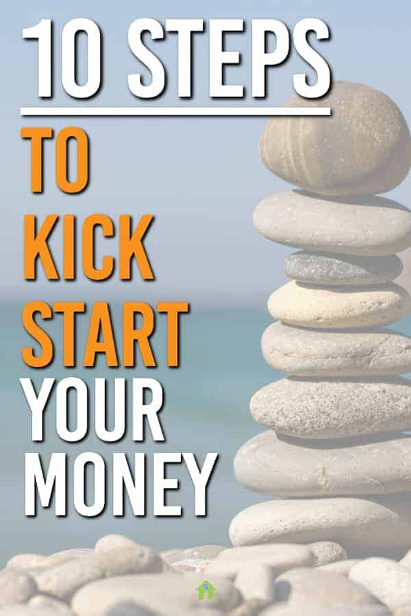 Ready to take your money to the next level. These 10 money challenges are what we used to change our life around and get better with money. Get the FREE Money Kickstart Challenge Guide here. #money #moneychallenge #personalfinance