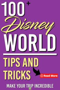 disney world tips and tricks