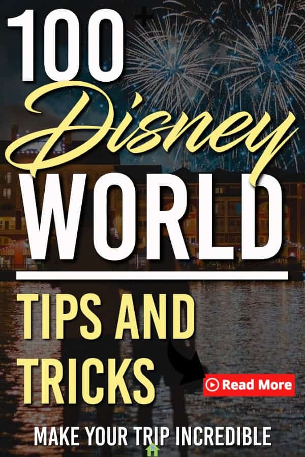 Here are 100+ Disney World Tips, Tricks and hacks so that you can make the most of your time in Disney Worlds theme parks! #DisneyWorld #wdw #Disney #firsttimeDisney #DisneyWorldTips #DIsneyWorldtipsandtricks