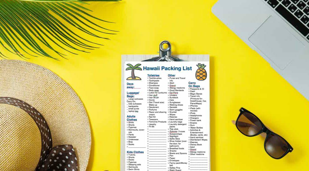 Hawaii Packing List: Everything You Need for an Island Vacation