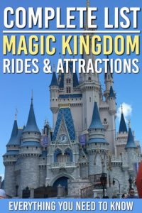 magic kingdom rides
