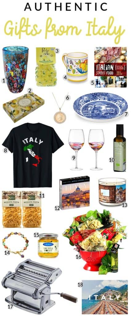 Gifts from Italy