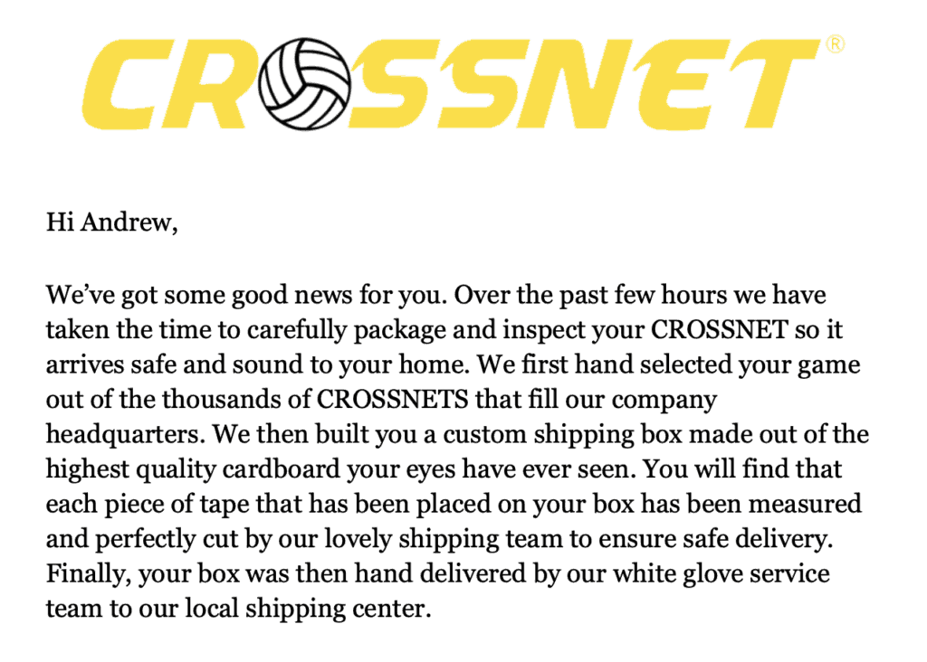 Crossnet review